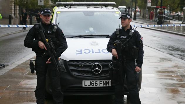 Scotland Yard police.(AFP)