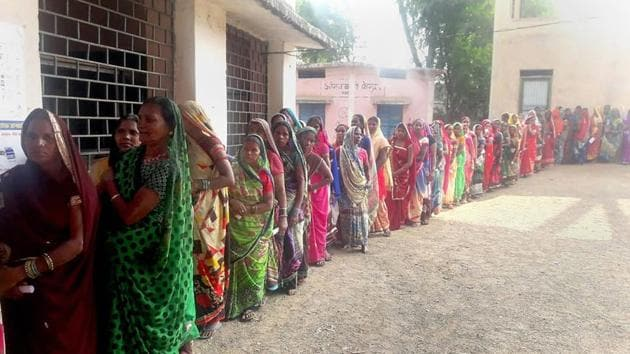 Major political parties in Telangana that ostensibly support the Women's Reservation Bill, gave a raw deal to women in allotment of assembly seats for the December 7 polls.(HT Photo)