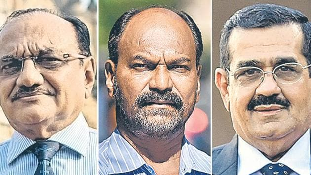 (From Left to Right) Dilip Mehta, Arun Jadhav, and NP Vaswani are all survivors of the terror attacks in Mumbai that took place on November 26, 2008 and continued over the next two days.(HT Photo / Combination picture)