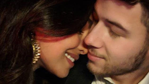 "Priyanka Chopra welcomed her fiancé Nick Jonas in Delhi with this photo and wrote: ""Welcome home baby...""(Instagram/priyankachopra)"