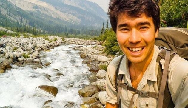 Authorities have been struggling to figure out how to recover the body of 26-year-old John Allen Chau, who was killed by North Sentinel islanders who apparently shot him with arrows and then buried his body on the beach.(REUTERS)