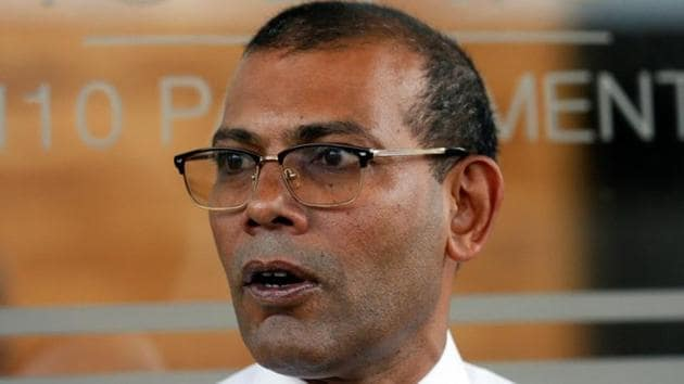 Maldives former President Mohamed Nasheed was elected as the country's head in its first-ever democratic poll in 2008, ousting an authoritarian president who had ruled the honeymoon islands for 30 years.(REUTERS)