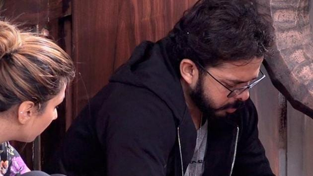 Sreesanth shares his match-fixing incident in the Bigg Boss house.(Twitter)