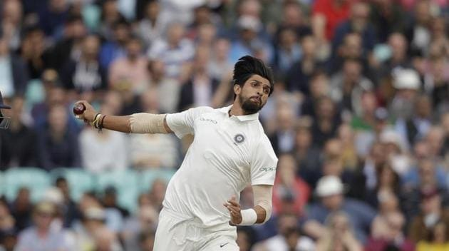 Ishant Sharma will lead the pace attack for India in Australia.(AP)