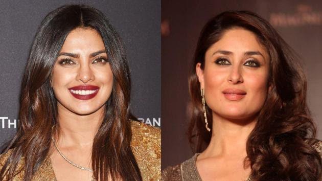 Kareena Kapoor Khan and Priyanka Chopra starred with Akshay Kumar in 2004 film Aitraaz. (Instagram)