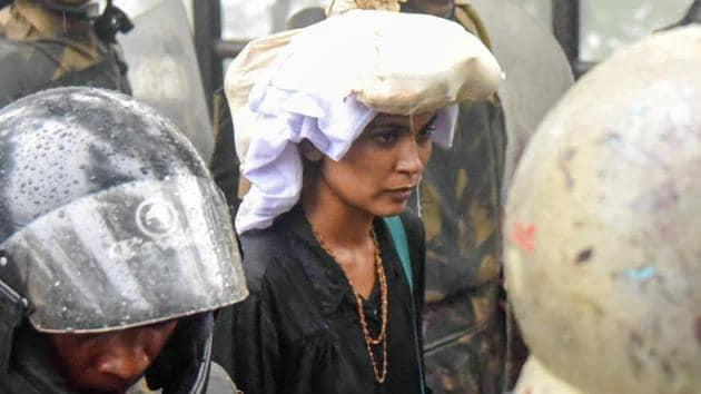 Activist Rehana Fathima(PTI file photo)