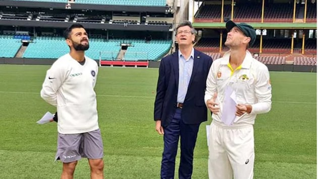 Virat Kohli won the toss and elected to bat first(BCCI Twitter Handle)