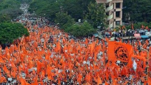 The reservation to the community that comprises around 32% population of the state, has been granted on the basis on the report by the Maharashtra State Backward Class Commission that has declared it as socially and educationally backward.(HT File Photo)