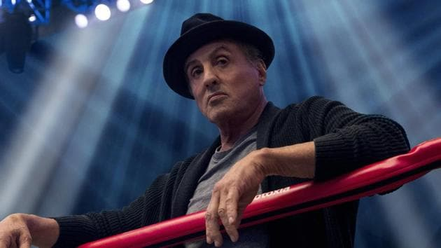 This image released by Metro Goldwyn Mayer Pictures / Warner Bros. Pictures shows Sylvester Stallone in a scene from Creed II.(AP)