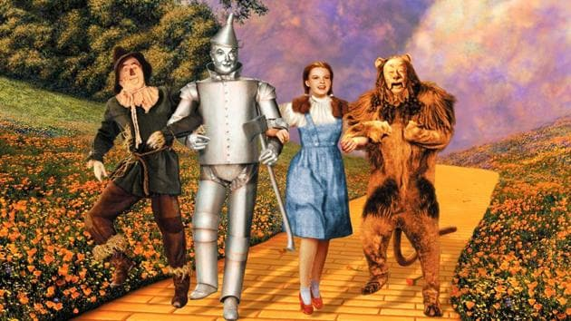 The Wizard of Oz was released in 1939.