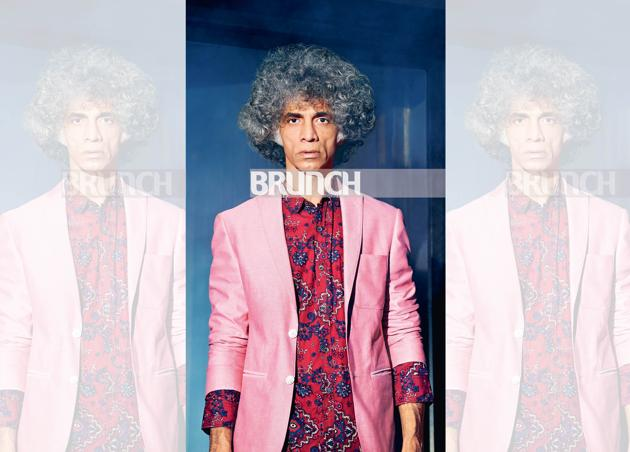 While most actors treat theatre as a stepping stone to Bollywood, Makarand Deshpande, even after giving some stellar performances in mainstream Hindi films prides himself to be a theatre actor first ; Location courtesy: Prithvi Theatre, Mumbai ; Shirt, Mufti; suit, Louis Philippe.(Prabhat Shetty)