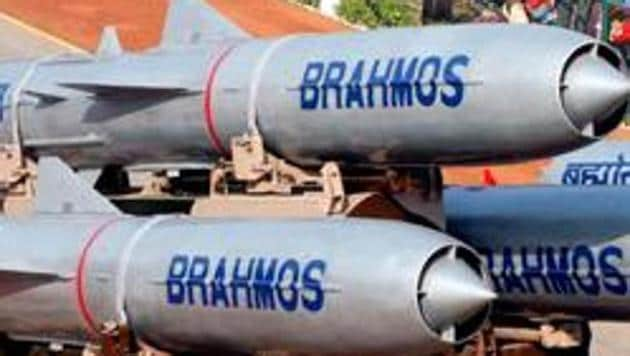 The Defence ministry Saturday approved military procurement worth Rs 3,000 crore, including Brahmos supersonic cruise missiles for Navy's two stealth frigates and armoured recovery vehicles for the Army's Arjun main battle tanks, a senior official said.(HT File Photo)