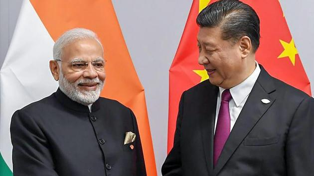 The Modi government was initially well-placed to persuade the Chinese to avoid too sharp a tilt towards Pakistan. Yet the widening power differential with China as well as a series of mis-steps eroded its ability to do so(PTI)