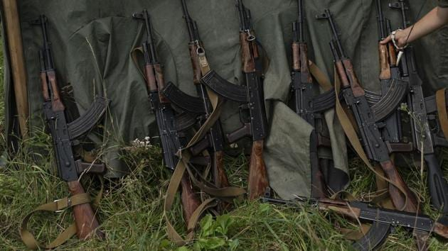 Munger has emerged as a hub for trading of sophisticated weapons, including AK-47 assault rifles, parts of which are smuggled from arms depots and locally assembled.(AP/ Representative image)