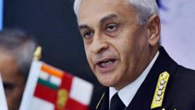 Chief of Naval Staff, Admiral Sunil Lanba said the case for the second Indigenous Aircraft Carrier or IAC-II has received the necessary impetus,(PTI)