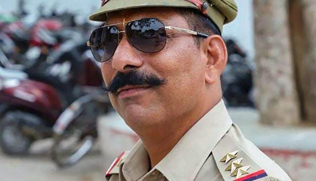 Police Inspector Subodh Kumar Singh, who was posted at the Syana Police Station, died in the violence.(PTI file photo)
