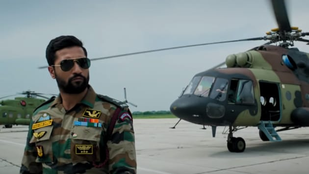 Vicky Kaushal in a still from the Uri trailer.