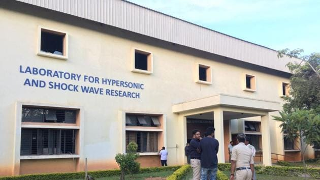 A scientist was killed and 3 people were injured in a cylinder blast at Indian Institute of Science, Bengaluru, news agency ANI reported.(HT Photo)