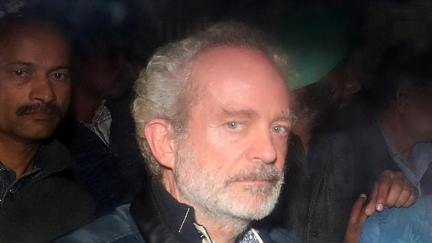 Christian Michel, a key accused and alleged middleman in the Rs 3600 crore deal between the Indian Air Force and Agusta Westland for the purchase of helicopters.(REUTERS)
