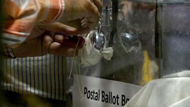 The Congress submitted a memorandum to the Election Commission, seeking a probe into the blank postal ballots.(AFP Photo)