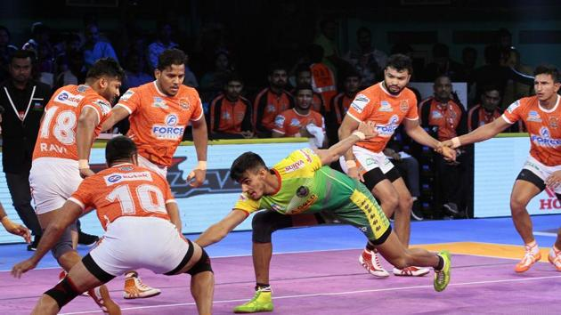 Patna Pirates are now second in Zone B table.(Pro Kabaddi)