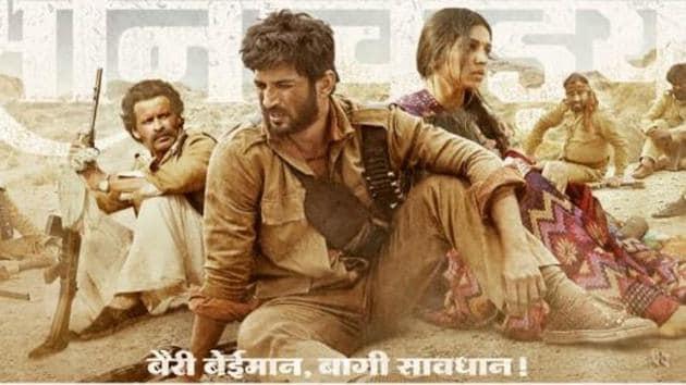 Son Chiriya first poster puts the spotlight on Sushant Singh Rajput, Manoj Bajpayee and Bhumi Pednekar.