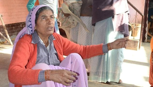 Ratan Kaur, the mother of Jeetendra also known as Fauji, has said that she would kill him herself if it was proved that he had shot dead police inspector Subodh Kumar during the violence in Bulandshahr, as was claimed through some videos of the incident.(PTI)