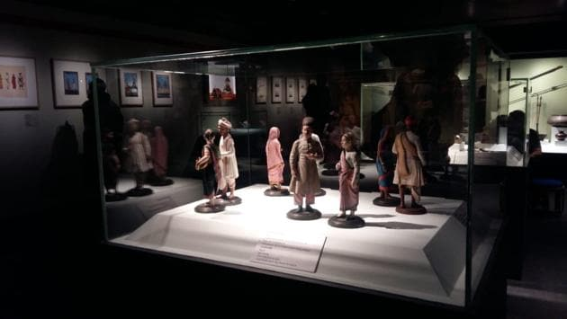 Clay figurines were a popular art medium in the days before photography.