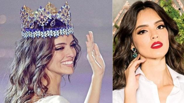 Vanessa Ponce de León became the first Mexican to be crowned as Miss World. (Instagram)