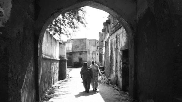 Ghasera village, 45 km southwest of Gurugram, falls in the Nuh district. There are many historic sites in and around the town of Nuh including the ruins of 18th century Ghasera fort.(Yogendra Kumar/HT File)