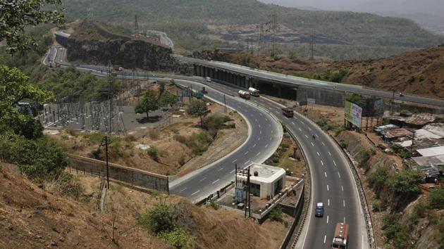 Mumbai-Pune Highway.