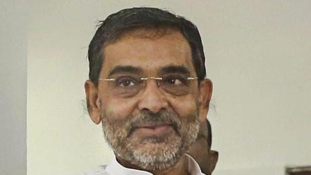 Union minister and Rashtriya Lok Samta Party (RLSP) chief Upendra Kushwaha.(PTI)