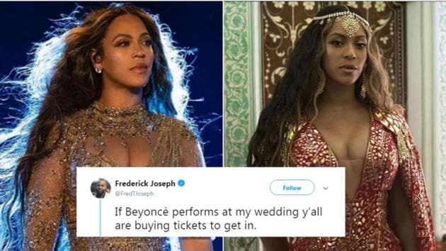 Twitter is lit up with jokes and reactions on Beyonce's performance at Isha Ambani's sangeet in Udaipur.