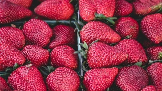 For best flavour, do not wash the strawberries until you are ready to eat or use them. Moisture is the enemy when it comes to storing berries. (Unsplash)