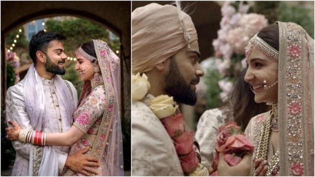 Anushka Sharma and Virat Kohli got married in Italy last year and are celebrating .(Instagram)