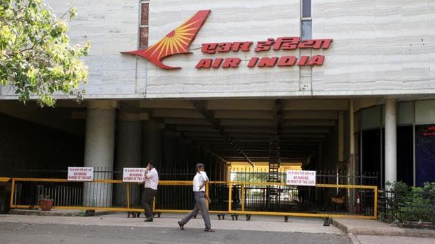 In a fresh bid to generate funds, loss-making national carrier Air India has put on sale its iconic eponymous 23-storey building in Mumbai's posh Nariman Point, hoping to mop up nearly Rs 2000 crore, an Air India official, familiar with the matter, said.(HT Photo)