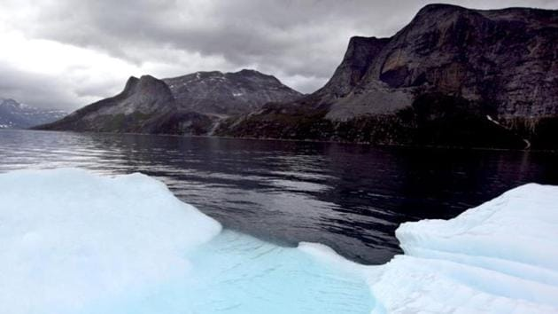 Ice sheets in Greenland and Antarctica are melting faster than ever. (File Photo)