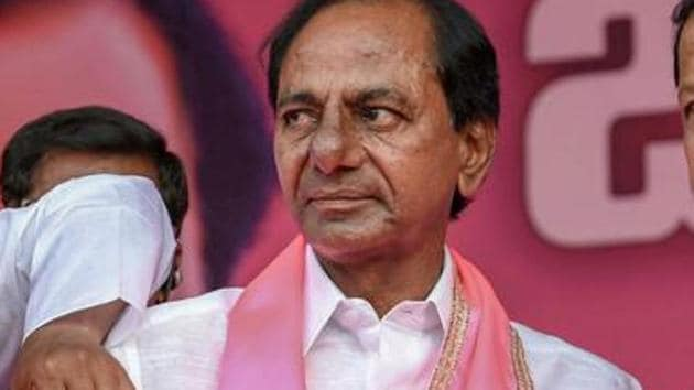 KCR, as Rao is popularly known, has been one of the votaries of a broad-based non-BJP and non-Congress federal front.(PTI)