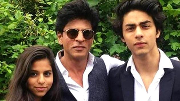 Shah Rukh Khan says son Aryan doesnt want to be an actor, Suhana will have to