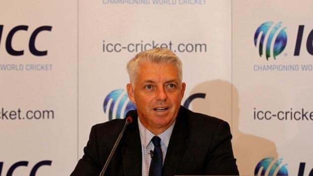 Dave Richardson, chief executive of International Cricket Council (ICC), speaks during a news conference.(REUTERS)