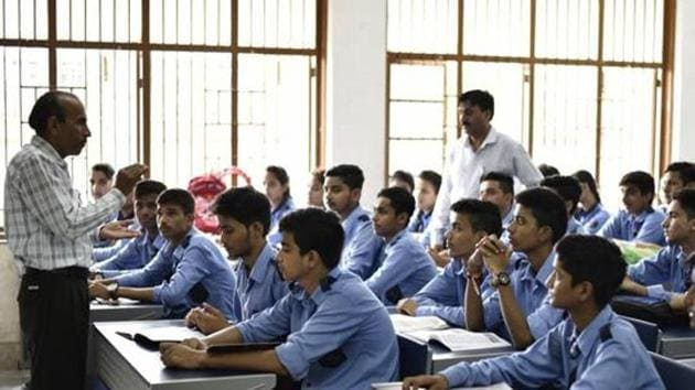 The Delhi government's move seeking the voter ID details of the parents and relatives of students of state-run schools has been challenged in the court.(HT File / Photo used for representational purpose)