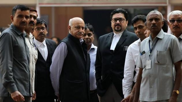 Former Union minister MJ Akbar has been accused of sexual harassment by a number of women at various stages of his journalistic career.(REUTERS)