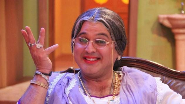 Ali Asgar is known for playing female characters in drag.
