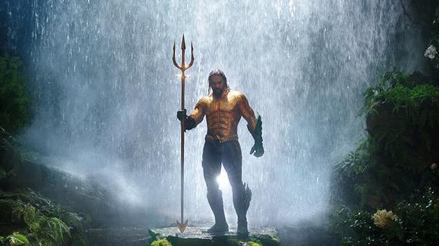 Jason Momoa plays the long-haired, beer-swilling Arthur Curry aka Aquaman.