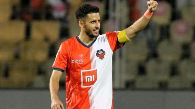 Ferran Corominas guided FC Goa to victory over NorthEast United FC.(Twitter)