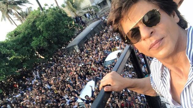 Shah Rukh Khan will be seen next in Zero which also stars actors Anushka Sharma and Katrina Kaif.(Instagram/iamsrk)