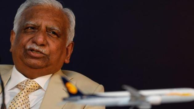 Naresh Goyal, Chairman of Jet Airways speaks during a news conference in Mumbai on November 29.(REUTERS)