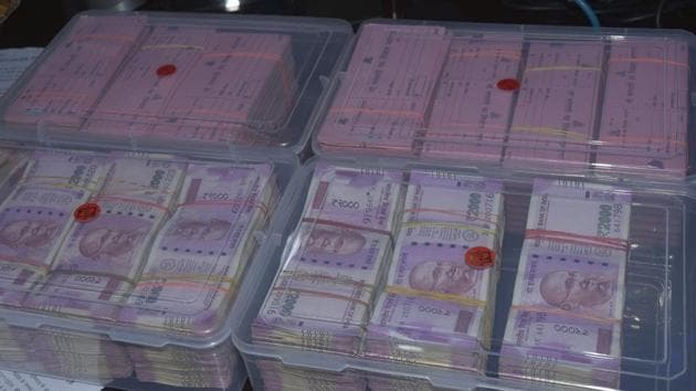 A Turkmenistan national was allegedly duped of $7,000 by two men in Gurugram(HT File)