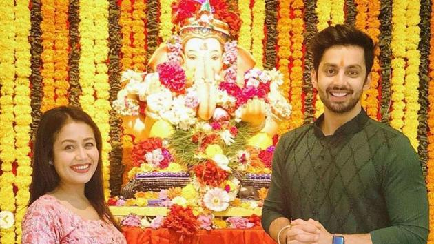 Neha Kakkar broke up with her boyfriend Himansh Kohli a few days ago.(Instagram)