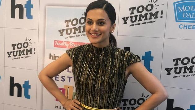 HT Palate Fest 2018: Delhi girl Tapsee Pannu talks about visiting her city, her...